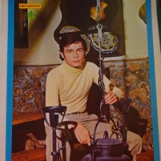 Coleccionismo de Revista Diez Minutos: POSTER DE LA REVISTA DIEZ MINUTOS AÑO 1972. ACTRICES ACTORES CANTANTES 40 X 27 CM ANDRES DO BARRO. Lote 98943095