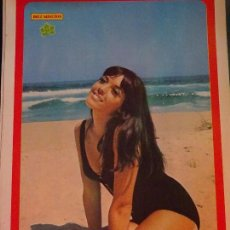 Coleccionismo de Revista Diez Minutos: POSTER DE LA REVISTA DIEZ MINUTOS AÑO 1972. ACTRICES ACTORES CANTANTES 40 X 27 CM BILLIE DAVIS. Lote 98943115