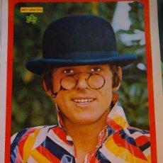 Coleccionismo de Revista Diez Minutos: POSTER DE LA REVISTA DIEZ MINUTOS AÑO 1972. ACTRICES ACTORES CANTANTES 40 X 27 CM GIANNI MORANDI. Lote 98943151