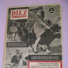 Coleccionismo de Revista Diez Minutos: REVISTA DIEZ MINUTOS. Nº 86 1953.. Lote 99320859