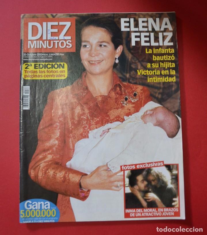 DIEZ MINUTOS INFANTA ELENA BAUTIZO VICTORIA (Coleccionismo - Revistas y Periódicos Modernos (a partir de 1.940) - Revista Diez Minutos)