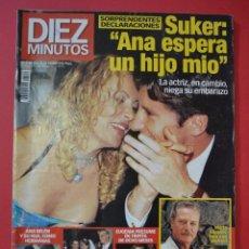 Coleccionismo de Revista Diez Minutos: DIEZ MINUTOS ANA OBREGON AÑO 1999. Lote 100239219