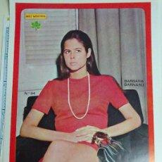 Coleccionismo de Revista Diez Minutos: POSTER REVISTA DIEZ MINUTOS AÑO 1972. ACTRICES CANTANTES 40 X 27 CM. BÁRBARA BARNARD. MUJER SEXY. Lote 100341719