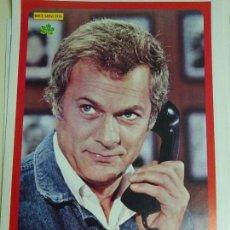Coleccionismo de Revista Diez Minutos: POSTER REVISTA DIEZ MINUTOS AÑO 1972. ACTRICES CANTANTES 40 X 27 CM. TONY CURTIS. Lote 100341751