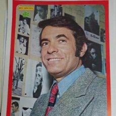 Coleccionismo de Revista Diez Minutos: POSTER REVISTA DIEZ MINUTOS AÑO 1972. ACTRICES CANTANTES 40 X 27 CM. GERMÁN COBOS. Lote 100341763