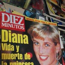 Coleccionismo de Revista Diez Minutos: DIEZ MINUTOS 12-9-97 LADY DI. Lote 100387959