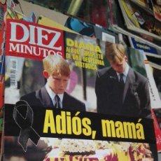 Coleccionismo de Revista Diez Minutos: DIEZ MINUTOS 19-9-97 ADIOS MAMA. Lote 100388023