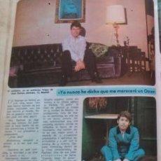 Coleccionismo de Revista Diez Minutos: RECORTES RAPHAEL. Lote 100484574