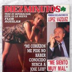 Coleccionismo de Revista Diez Minutos: DIEZ MINUTOS - 1988 - TONY CANTO, MAYRA GOMEZ KEMP, LAS GRECAS, MARTA SANCHEZ, MARIA JOSE CANTUDO. Lote 101363199