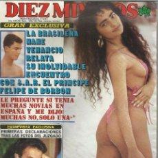 Coleccionismo de Revista Diez Minutos: REVISTA DIEZ MINUTOS, Nº 1856, 1987. JULIO IGLESIAS, BERTÍN OSBORNE, ISABEL PREYSLER, MARISOL.. Lote 104096595
