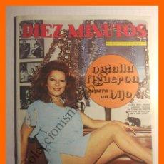 Coleccionismo de Revista Diez Minutos: DIEZ MINUTOS DICIEMBRE 1972 Nº 1113 - NATALIA FIGUEROA - LUCIANA WOLF - ROGER DAVIS. Lote 104853407
