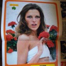 Coleccionismo de Revista Diez Minutos: POSTER PIN UP AMPARO RODRIGO HENO DE PRAVIA CATHERINE SPAAK GLENDA JACKSON. Lote 105097191