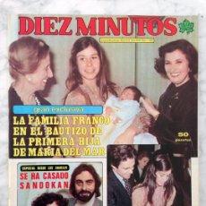 Coleccionismo de Revista Diez Minutos: DIEZ MINUTOS - 1979 - BETTY MISSIEGO, BLANCA ESTRADA, CHELO MARTIN, KABIR BEDI, ANGIE & HELGA. Lote 105278211