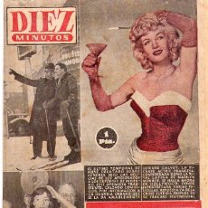 Coleccionismo de Revista Diez Minutos: DIEZ MINUTOS *** LOTE 29 REVISTAS DIEZ MINUTOS AÑO 1955. Lote 105813691