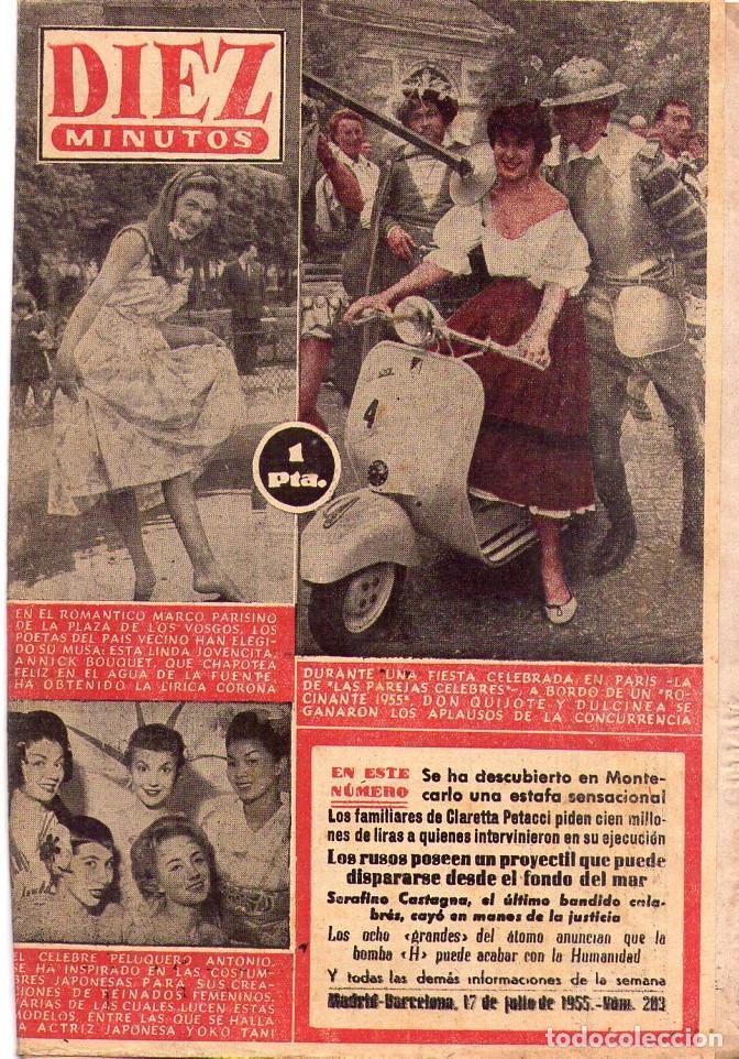 Coleccionismo de Revista Diez Minutos: DIEZ MINUTOS *** LOTE 29 REVISTAS DIEZ MINUTOS AÑO 1955 - Foto 2 - 105813691