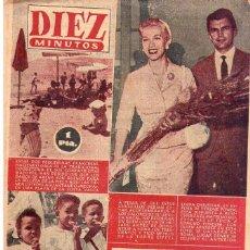 Coleccionismo de Revista Diez Minutos: DIEZ MINUTOS *** LOTE 4 REVISTAS DIEZ MINUTOS AÑO 1956. Lote 105853427