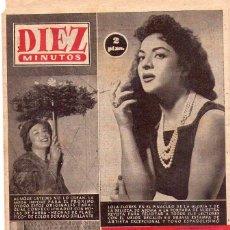 Coleccionismo de Revista Diez Minutos: DIEZ MINUTOS *** LOTE 9 REVISTAS DIEZ MINUTOS AÑO 1958. Lote 105854615
