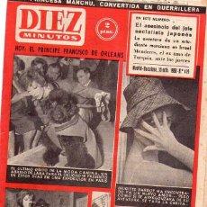 Coleccionismo de Revista Diez Minutos: DIEZ MINUTOS *** BRIGITTE BARDOT *** NÚMERO 479 DEL 30 OCTUBRE 1960. Lote 105855151
