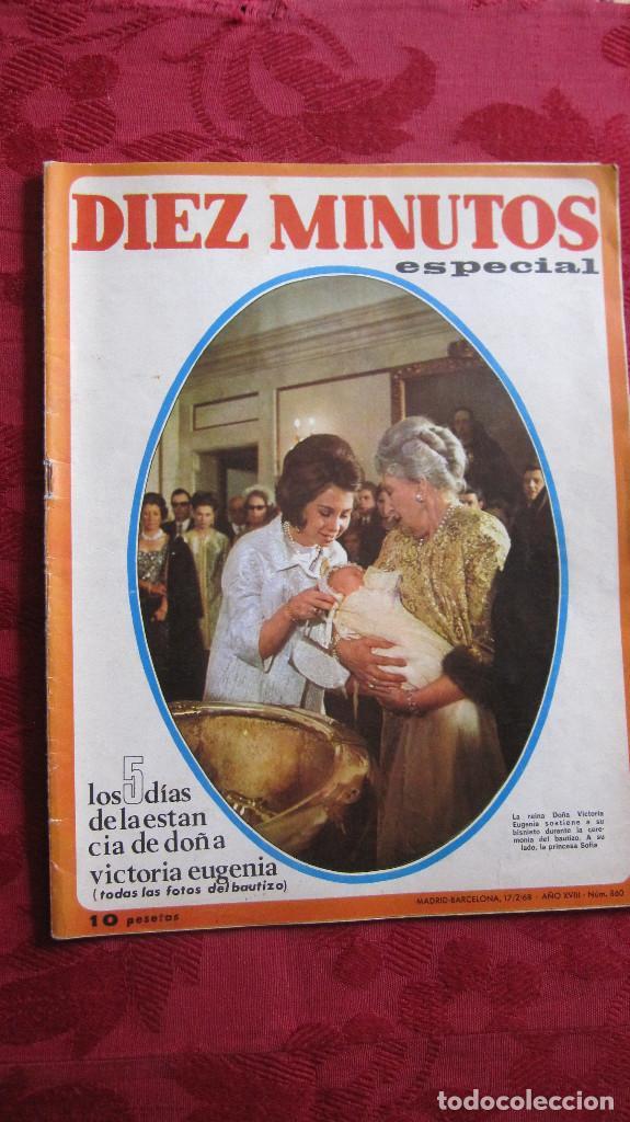 DIEZ MINUTOS ESPECIAL.Nº 860 DE 1968. 10 PTS. 50 PAG. (Coleccionismo - Revistas y Periódicos Modernos (a partir de 1.940) - Revista Diez Minutos)
