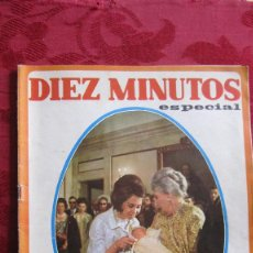 Coleccionismo de Revista Diez Minutos: DIEZ MINUTOS ESPECIAL.Nº 860 DE 1968. 10 PTS. 50 PAG.. Lote 105966455