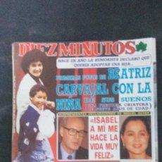 Coleccionismo de Revista Diez Minutos: ISABEL PREYSLER-EL LUTE-SABRINA SALERNO-ESTEFANIA-MARTA SANCHEZ-SARA MONTIEL-CARMEN CERVERA . Lote 106946943