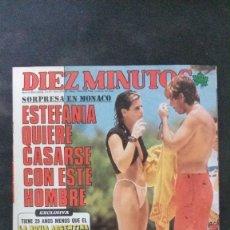 Coleccionismo de Revista Diez Minutos: ESTEFANIA-SARA MONTIEL-MISS ESPAÑA-ROCIO DURCAL-ISABEL PANTOJA-EL LUTE-ANA BELEN-CAROLINA-LENNON. Lote 107187511