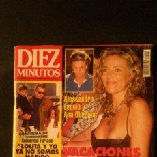 Coleccionismo de Revista Diez Minutos: ANA OBREGON-LINA MORGAN-MISS ESPAÑA-EUROVISION-SARA MONTIEL-ISABEL PANTOJA PREYSLER-ESTEFANIA. Lote 107328299