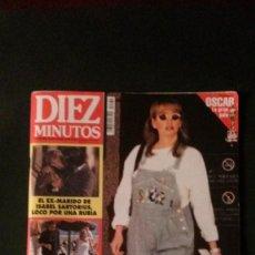 Coleccionismo de Revista Diez Minutos: REMEDIOS AMAYA-ESTEFANIA-MISS ESPAÑA-FALLAS-ANA OBREGON-MAR FLORES-CARMEN CERVERA-SPICE GIRLS. Lote 107838607