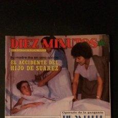 Coleccionismo de Revista Diez Minutos: SYLVIE VARTAN-ANA OBREGON-BEATRIZ ESCUDERO-RAPHAEL-PALOMA SAN BASILIO-MAYRA UN DOS TRES. Lote 107861667