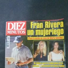 Coleccionismo de Revista Diez Minutos: ESTEFANIA-ANA OBREGON-ISABEL PANTOJA-ROSARIO FLORES-ANA BELEN-IVONNE REYES-SUPERMAN-JAMES BOND . Lote 109384535