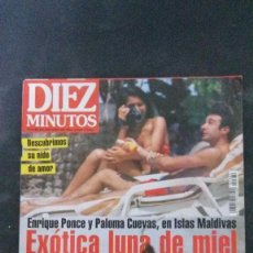 Coleccionismo de Revista Diez Minutos: MEDIAS-ROSARIO FLORES-MISS ESPAÑA-ANA OBREGON-ESTEFANIA-ISABEL PANTOJA-CARMEN CERVERA-CANTUDO . Lote 109398039