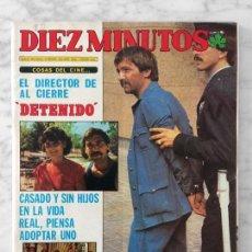 Coleccionismo de Revista Diez Minutos: DIEZ MINUTOS - 1981 - SADAT, RAPHAEL, MARISA ABAD, AGATA LYS, J.M. SERRAT, HUBERTUS, LOLA FLORES. Lote 110112935