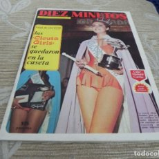 Coleccionismo de Revista Diez Minutos: REVISTA DIEZ MINUTOS 11/11/1972 - Nº107 - LAS CICUTA GIRLS - MARLON BRANDO - MISS ESPAÑA 72. Lote 110150871