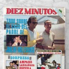 Coleccionismo de Revista Diez Minutos: DIEZ MINUTOS - 1982 - JULIO IGLESIAS, CHARO BAEZA, FARRAH FAWCETT, SOLEDAD BECERRIL, MARIA JIMENEZ. Lote 110203159