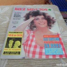 Coleccionismo de Revista Diez Minutos: REVISTA DIEZ MINUTOS Nº1313 - 23/10/1976 LIZ TAYLOR - JUANITO NAVARRO. Lote 110392307