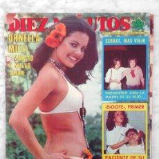 Coleccionismo de Revista Diez Minutos: DIEZ MINUTOS - 1977 - ILIANA ROSS, MARIE MYRIAM, SARA LEZANA, ANA BELEN, CAMILO SESTO, MIGUEL BOSE. Lote 110534431