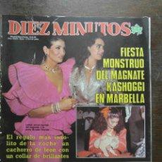 Coleccionismo de Revista Diez Minutos: REVISTA DIEZ MINUTOS Nº 1772 AÑO .XXXV 1985. KASHOGGI, BODALO, ROCK HUDSON, PACO VALLADARES. Lote 111349711