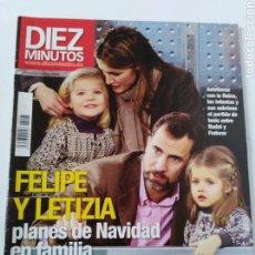 Coleccionismo de Revista Diez Minutos: DIEZ MINUTOS ENERO 2011. Lote 112616171