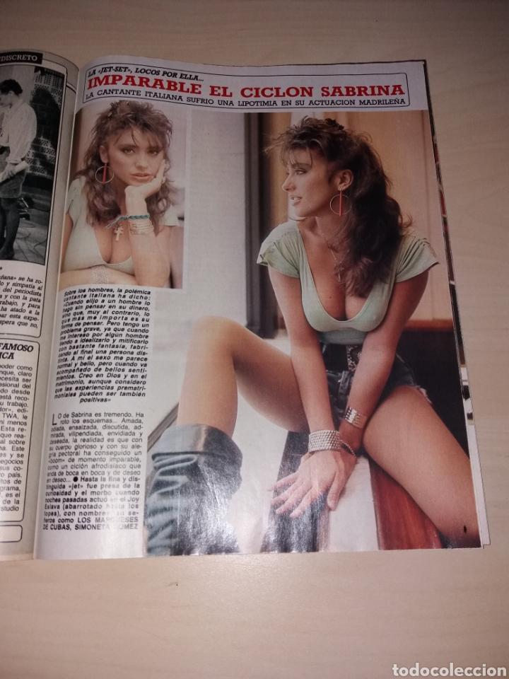 Coleccionismo de Revista Diez Minutos: DIEZ MINUTOS - 26-01-88 - SABRINA - MIGUEL BOSÉ - ETC... - Foto 2 - 112791212