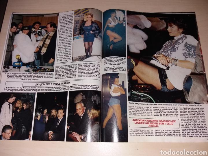 Coleccionismo de Revista Diez Minutos: DIEZ MINUTOS - 26-01-88 - SABRINA - MIGUEL BOSÉ - ETC... - Foto 3 - 112791212