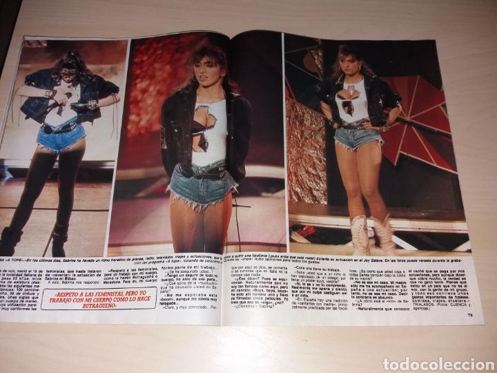 Coleccionismo de Revista Diez Minutos: DIEZ MINUTOS - 26-01-88 - SABRINA - MIGUEL BOSÉ - ETC... - Foto 4 - 112791212
