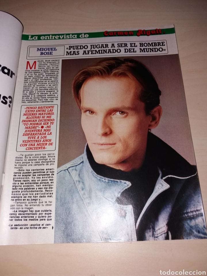 Coleccionismo de Revista Diez Minutos: DIEZ MINUTOS - 26-01-88 - SABRINA - MIGUEL BOSÉ - ETC... - Foto 5 - 112791212