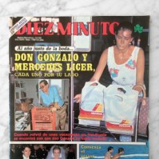 Coleccionismo de Revista Diez Minutos: DIEZ MINUTOS - 1985 - FALCON CREST, ESTEFANIA, JUNCAL RIVERO, ANA ALICIA, BERTIN OSBORNE, NADIUSKA. Lote 112975703