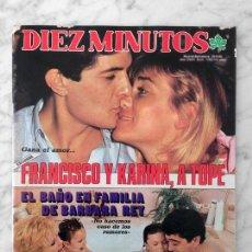 Coleccionismo de Revista Diez Minutos: DIEZ MINUTOS - 1985 SILVIA ABRISQUETA, BERTIN OSBORNE, ALASKA, CAROLINA, PASTORA VEGA, SARA MONTIEL. Lote 113086431