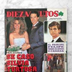 Coleccionismo de Revista Diez Minutos: DIEZ MINUTOS - 1985 - SILVIA TORTOSA, LORENZO LAMAS, MARIA JIMENEZ, HUGO SANCHEZ, MARI TRINI. Lote 113087887