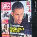 Coleccionismo de Revista Diez Minutos: F1 DIEZ MINUTOS Nº 2996 AÑO 2009 MIGUEL ANGEL SILVESTRE EL NUEVO DUQUE. Lote 114274015