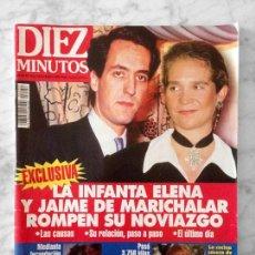 Coleccionismo de Revista Diez Minutos: DIEZ MINUTOS - 1994 - PALOMA LAGO, ANA OBREGÓN, SILVIA MARSÓ, NATALIA ESTRADA, ROCÍO JURADO. Lote 114434871