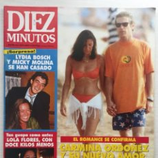 Coleccionismo de Revista Diez Minutos: DIEZ MINUTOS Nº 2237 CARMINA ORDOÑEZ / LYDIA BOSCH / LOLA FLORES / ROCIO JURADO. Lote 114625375