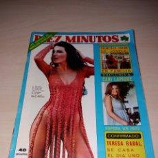 Coleccionismo de Revista Diez Minutos: ANTIGUA REVISTA DIEZ MINUTOS - AÑO 1977 - NÚMERO 1338 - LA CANTUDO - SEX POSTER DE CONCHA VELASCO. Lote 115405606