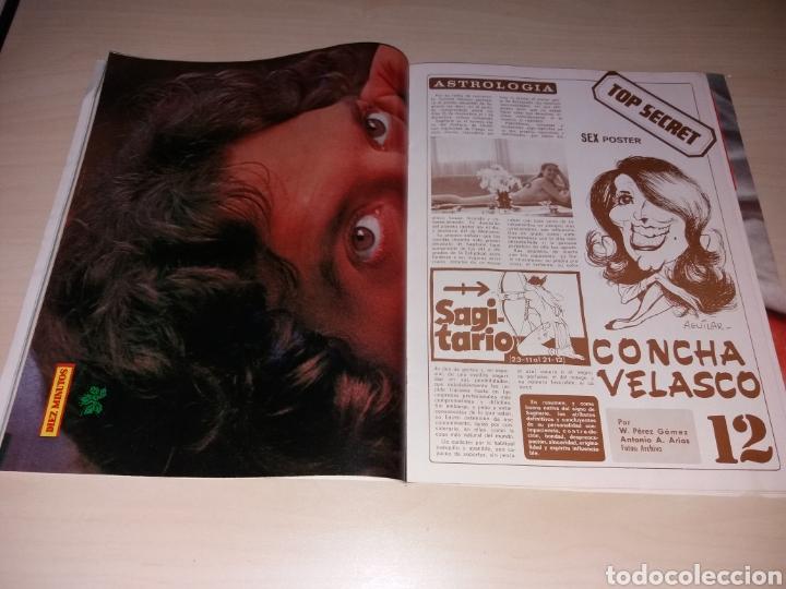 Coleccionismo de Revista Diez Minutos: Antigua revista DIEZ MINUTOS - Año 1977 - Número 1338 - La Cantudo - Sex poster de Concha Velasco - Foto 2 - 115405606